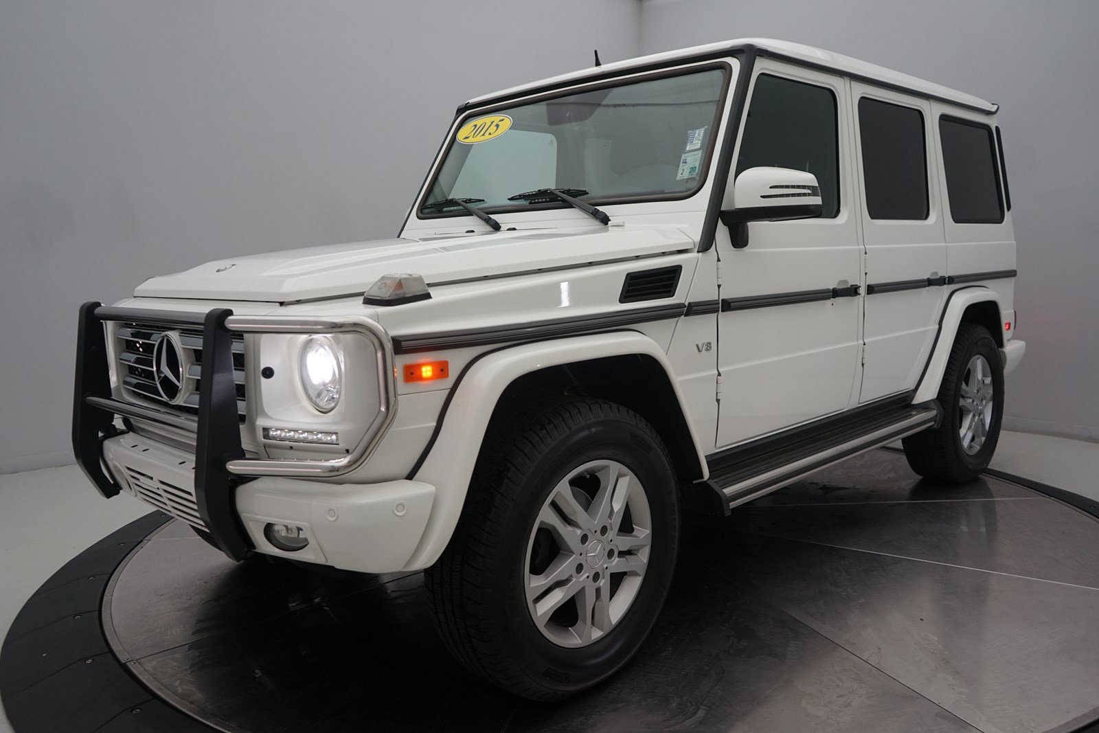 Certified Pre Owned 2015 Mercedes Benz G Class G 550